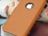 iphone4S手机壳 超薄苹果手机套左右开保护皮套 超薄手机套