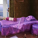 美容床罩美容院床罩熏蒸按摩床罩特价通用紫