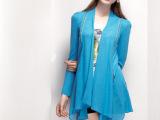 深圳杭州广州2013一线品牌自由秀春装 长款外套 品牌折扣女装批