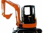 长春中小型挖掘机出租破碎锤小钩机橡胶履带租赁15型挖机