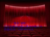 防火舞台幕布遥控电动舞台幕布阻燃舞台幕布