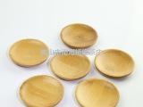 茶具 纯天然竹制茶杯垫杯托 道配件 圆竹杯垫