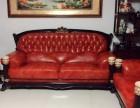 太原真皮沙发翻新欧式沙发翻新定做沙发套实木沙发换海棉万柏林