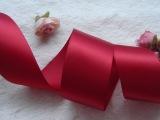 热卖2~100mm优质纯色双面缎带绸带手工diy蝴蝶结服装辅料现