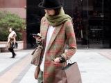 批发一件秋冬韩版修身羊毛呢大衣女西装外套中长款呢子外套秋冬款
