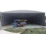 定制郑州移动推拉雨篷大型简易伸缩遮阳棚大排档烧烤篷仓库帐篷