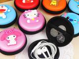 可爱卡通硅胶零钱包 韩国耳机包迷你创意钥匙包女手拿包硬币包