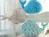 厂家批发海底世界总动员鲸鱼大号毛绒玩具抱枕靠垫超大鱼抱枕代发