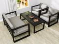 美式工业风办公桌餐桌,咖啡厅西餐桌椅沙发,吧台吧椅 低价促销