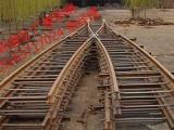DC738隧道用对称道岔 矿用优质双开道岔