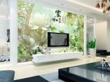法兰迪壁画电视背景墙仿玉雕壁画惊艳你的视觉