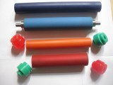 厂家直销商标机胶棍不干胶机UV墨辊轮转机墨棍