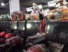 沧州动漫城游戏机赛车液晶屏模拟机动漫设备回收与销售