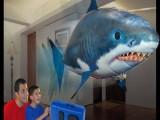遥控飞鱼/空气鱼/空中飞鱼 鲨鱼小丑鱼 遥控玩具