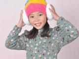 品牌童装春季新款女童纯色卡通打底衫针织衫 长袖儿童针织清仓