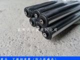 陕西动力包胶滚筒非标定制轴承盖PVC聚氨酯滚筒厂家