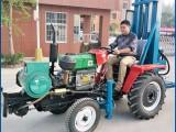 拖拉机带打井机-src-100型车载式打井机