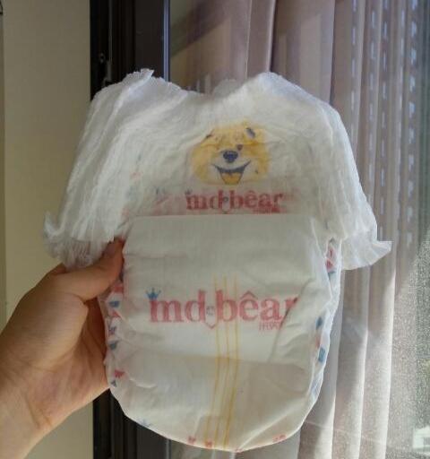 米兜熊纸尿裤拉拉裤