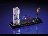 长沙商会成立周年聚会合影留纪念品 水晶实用办公摆件