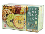日本饼干 もえぎ野 萌千朋蒂薰6种类野果果仁薄脆饼112g 年货