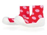 厂家批发儿童宝宝袜米多圆点白点系列轻便舒适鞋袜透气吸汗