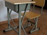 现单双人培训学习桌椅 儿童课桌椅阶梯教室桌椅合肥厂家低价批发