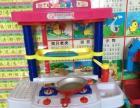 儿童实木餐桌,仿真厨房仿真超市和各种儿童玩具,保证物超所