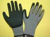 乳胶劳保手套 挂胶手套批发 耐酸碱 高密劳保手套厂 防护手套
