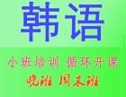 深圳龙华韩语周末暑假培训班