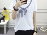9.3块女装韩版镂空领短袖T恤 大码女式T恤