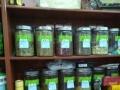 货架子两组当年用来卖茶叶的