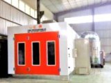 伸缩式移动喷漆房品牌就选济图环保漆房厂家,成就煤场粉尘治理行