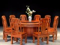 缅甸花梨圆餐桌