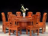 缅甸花梨木圆桌