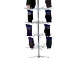 加工定制 金属挂钩展示架 饰品旋转挂钩展示架 袜子挂架 超市货架