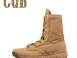 CQB 夏季靴 单靴 美军超轻SFB军靴 沙漠靴 特种兵 作战靴
