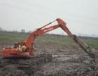 山东省湿地挖掘机出租