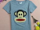 15夏款新品童装 韩版纯棉卡通儿童短袖t恤 奥代尔中小男童t恤潮