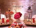 婚礼甜品台道具设计甜品设计摆放