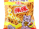 小零食 正宗马来西亚风味咪咪虾条20g 虾味条/蟹味粒 一箱48