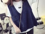贵州哪里外贸低价库存尾货针织衫厂家直销韩版新款女式针织衫批发