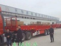 出售13米平板运输车 集装箱半挂车厂家直销