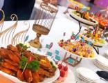 承接各种自助餐公司团餐聚会茶歇