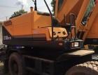 哈密个人一手现代210轮式挖掘机整车原版低价出售中