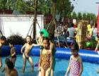 夏日水上充气游泳池水上乐园城堡地产活动游乐设备直租
