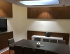财富广场 300平 豪华装修 5个办公室 全套家具