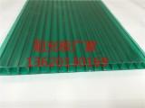 6mm阳光板,透明/湖蓝/草绿色/茶色/白色阳光板,质保十年