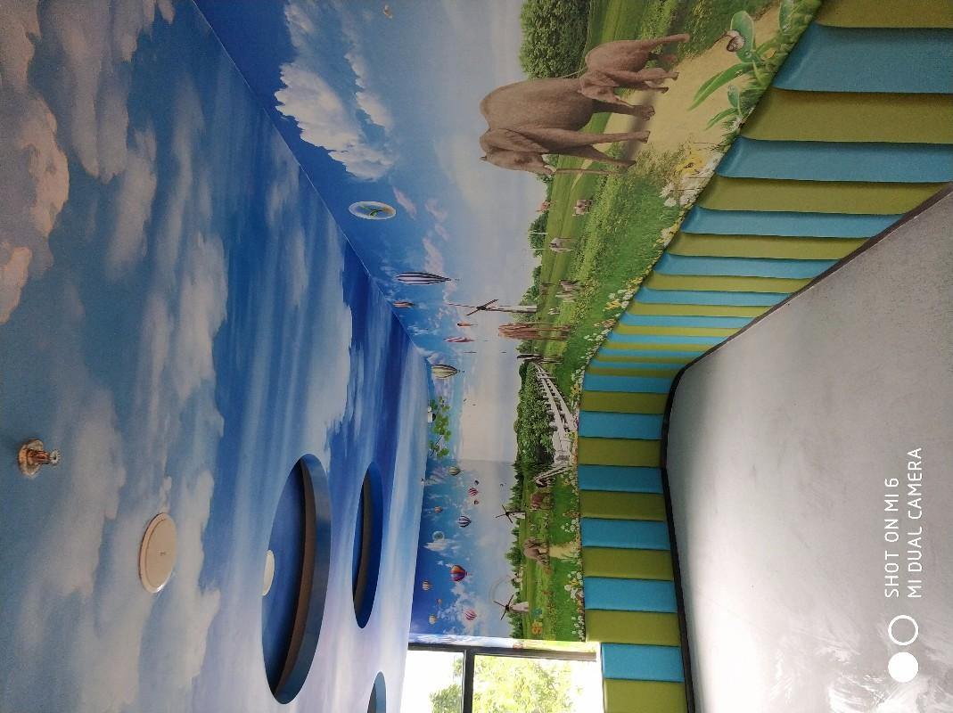 惠州贴壁纸墙布壁画硅藻泥美缝