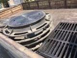 北京铸铁井盖厂家 球墨铸铁井盖 雨水篦子 地漏/雨水斗价格