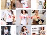 男女童装一手货源便宜库存服装批发处理短袖T恤外贸尾货服装批